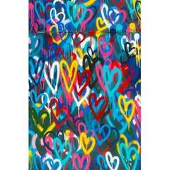 Graffiti Hearts Street Art Spray Paint Rad 5 5  X 8 5  Notebooks by MAGA