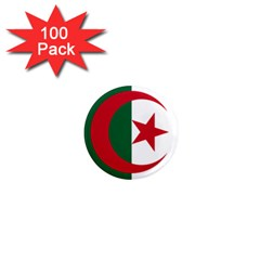 Roundel Of Algeria Air Force 1  Mini Magnets (100 Pack)  by abbeyz71