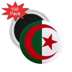 Roundel Of Algeria Air Force 2 25  Magnets (100 Pack)  by abbeyz71