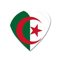 Roundel Of Algeria Air Force Heart Magnet by abbeyz71