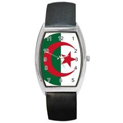 Roundel Of Algeria Air Force Barrel Style Metal Watch by abbeyz71