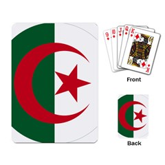 Roundel Of Algeria Air Force Playing Card by abbeyz71