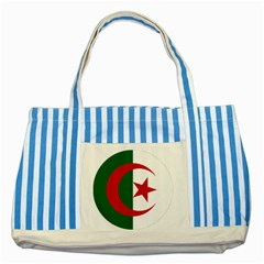 Roundel Of Algeria Air Force Striped Blue Tote Bag by abbeyz71
