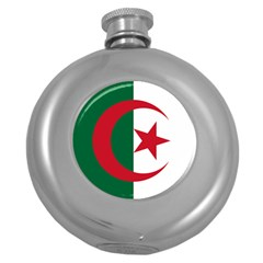 Roundel Of Algeria Air Force Round Hip Flask (5 Oz) by abbeyz71