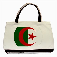 Roundel Of Algeria Air Force Basic Tote Bag (two Sides) by abbeyz71