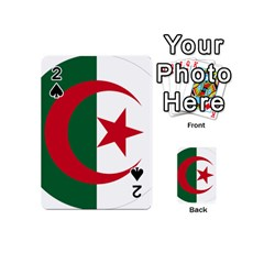 Roundel Of Algeria Air Force Playing Cards 54 (mini)  by abbeyz71