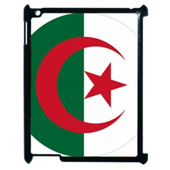 Roundel Of Algeria Air Force Apple Ipad 2 Case (black) by abbeyz71