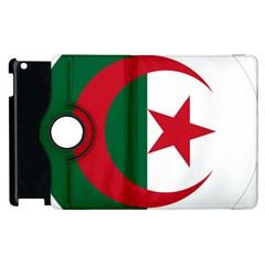Roundel Of Algeria Air Force Apple Ipad 2 Flip 360 Case by abbeyz71