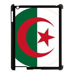 Roundel Of Algeria Air Force Apple Ipad 3/4 Case (black) by abbeyz71