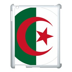Roundel Of Algeria Air Force Apple Ipad 3/4 Case (white) by abbeyz71