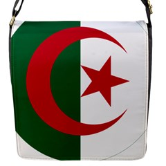 Roundel Of Algeria Air Force Flap Messenger Bag (s) by abbeyz71