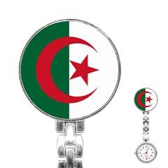 Roundel Of Algeria Air Force Stainless Steel Nurses Watch by abbeyz71