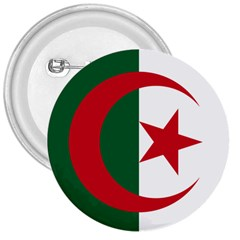 Roundel Of Algeria Air Force 3  Buttons by abbeyz71