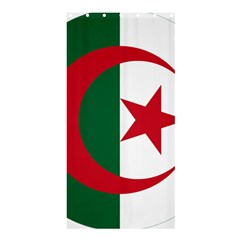 Roundel Of Algeria Air Force Shower Curtain 36  X 72  (stall)  by abbeyz71