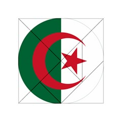 Roundel Of Algeria Air Force Acrylic Tangram Puzzle (4  X 4 ) by abbeyz71