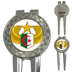 Badge Of The Algerian Air Force  3 In 1 Golf Divots by abbeyz71