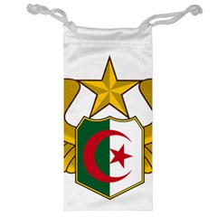 Badge Of The Algerian Air Force  Jewelry Bag by abbeyz71