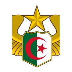 Badge Of The Algerian Air Force  5 5  X 8 5  Notebooks by abbeyz71