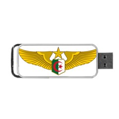 Badge Of The Algerian Air Force  Portable Usb Flash (two Sides) by abbeyz71