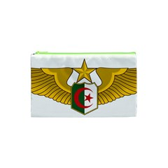 Badge Of The Algerian Air Force  Cosmetic Bag (xs) by abbeyz71