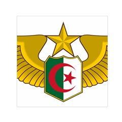 Badge Of The Algerian Air Force  Small Satin Scarf (square) by abbeyz71