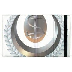 Badge Of The Algerian Navy  Apple Ipad 2 Flip Case by abbeyz71