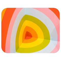 Graffiti Orange Lime Power Blue And Pink Spherical Abstract Retro Pop Art Design Full Print Lunch Bag by MAGA