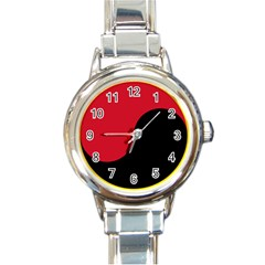 Roundel Of Angolan Air Force Round Italian Charm Watch by abbeyz71
