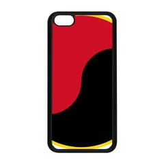 Roundel Of Angolan Air Force Apple Iphone 5c Seamless Case (black) by abbeyz71