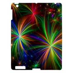 Colorful Firework Celebration Graphics Apple Ipad 3/4 Hardshell Case by Sapixe