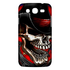 Confederate Flag Usa America United States Csa Civil War Rebel Dixie Military Poster Skull Samsung Galaxy Mega 5 8 I9152 Hardshell Case  by Sapixe