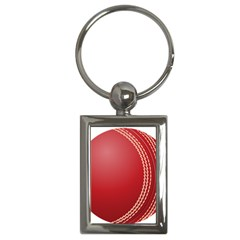 Cricket Ball Key Chains (rectangle)  by Sapixe