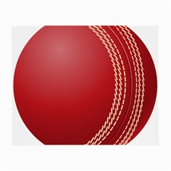 Cricket Ball Small Glasses Cloth (2 Side) by Sapixe