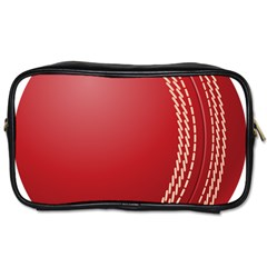 Cricket Ball Toiletries Bags 2 Side by Sapixe