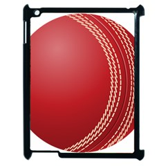 Cricket Ball Apple Ipad 2 Case (black) by Sapixe