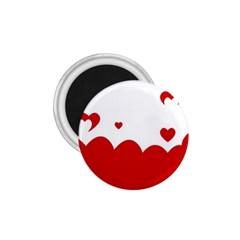 Heart Shape Background Love 1 75  Magnets