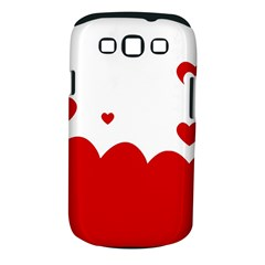 Heart Shape Background Love Samsung Galaxy S Iii Classic Hardshell Case (pc+silicone)