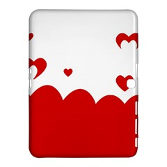 Heart Shape Background Love Samsung Galaxy Tab 4 (10 1 ) Hardshell Case