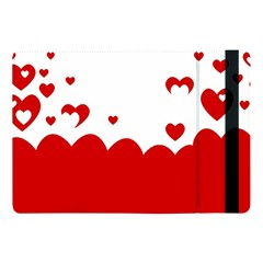 Heart Shape Background Love Apple Ipad Pro 10 5   Flip Case