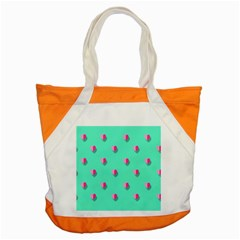 Love Heart Set Seamless Pattern Accent Tote Bag