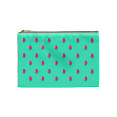 Love Heart Set Seamless Pattern Cosmetic Bag (medium)