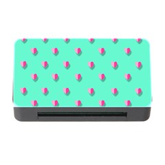 Love Heart Set Seamless Pattern Memory Card Reader With Cf