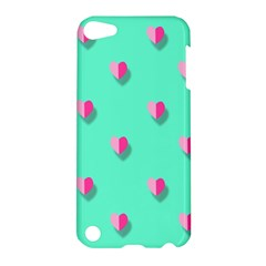 Love Heart Set Seamless Pattern Apple Ipod Touch 5 Hardshell Case