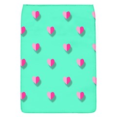 Love Heart Set Seamless Pattern Flap Covers (s)