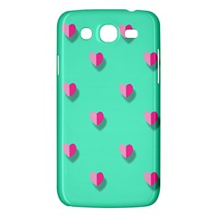 Love Heart Set Seamless Pattern Samsung Galaxy Mega 5 8 I9152 Hardshell Case