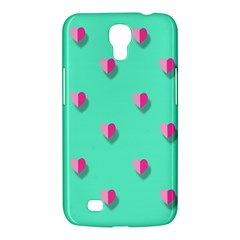 Love Heart Set Seamless Pattern Samsung Galaxy Mega 6 3  I9200 Hardshell Case