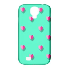Love Heart Set Seamless Pattern Samsung Galaxy S4 Classic Hardshell Case (pc+silicone)