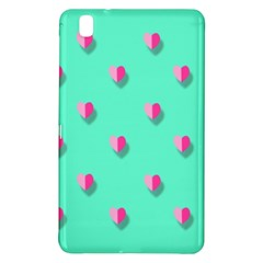 Love Heart Set Seamless Pattern Samsung Galaxy Tab Pro 8 4 Hardshell Case