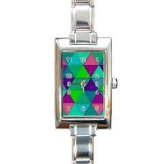 Background Geometric Triangle Rectangle Italian Charm Watch