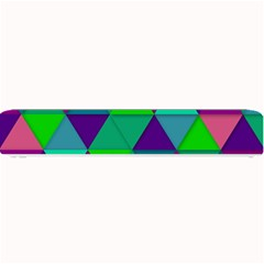 Background Geometric Triangle Small Bar Mats